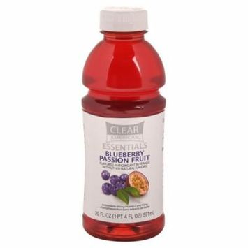 Clear American Essentials Antioxidant Beverage, Blueberry Passion Fruit, 20 oz