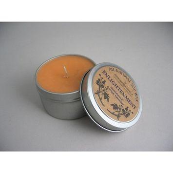 Bennington All Natural Soy Wax by Candle (Enlightenment) Sandalwood, Orange, Lavender