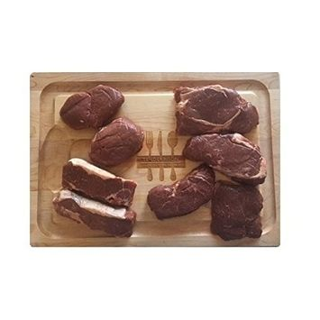 Bison Ultimate Variety Grilling Steak Pack, Made with North American Buffalo.
