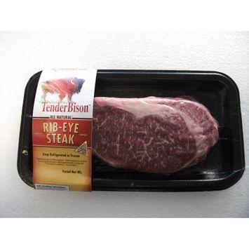 Bison Ribeye Steak - Case of 6 (8-11 oz. each)