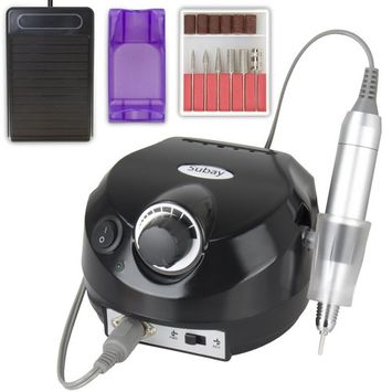 Professional Electric Nail Drill Machine Manicure Pedicure Kit Finger Nail File Tool for Nail Salon and Personal use