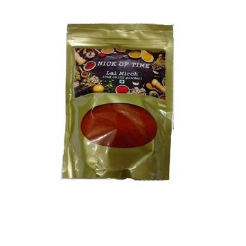 Nick of Time - Lal Mirch (Red Chilli Powder) sourced from Rajasthan, India (500gm/17.6oz)