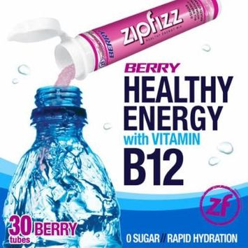 Zipfizz Healthy Energy Drink Mix, (Berry, 30-Count)