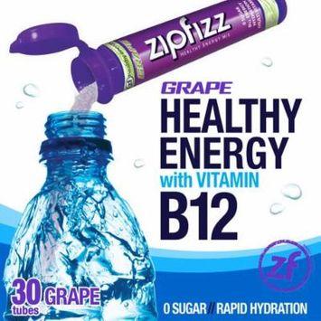 Zipfizz Healthy Energy Drink Mix, (Grape, 30-Count)