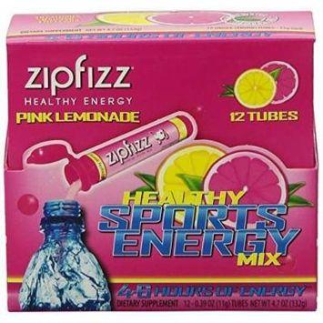 Zipfizz Healthy Energy Drink Mix, (Pink Lemonade, 30-Count)