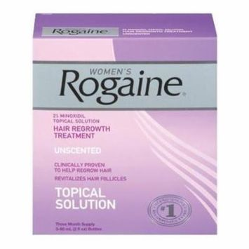 5 Pack Women's Rogaine Hair Regrowth Treatment Unscented 3 Month Supply Each