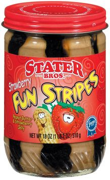 Stater bros Strawberry Fun Stripes Peanut Butter & Jelly