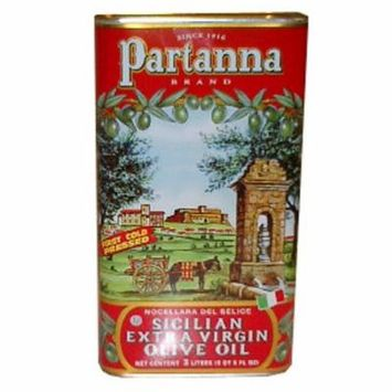 Partanna Extra Virgin Olive Oil, 3 Liters
