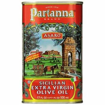 Partanna Extra Virgin Olive Oil, 500 ml (17 oz) Tin
