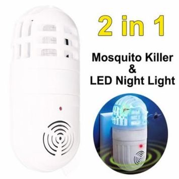 Ultrasonic Electronic Pest Control Mosquito Cockroach Mice Killer Repeller USA