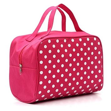 DZT1968 Portable Entrancing Multifunction Travel Cosmetic Bag Makeup Toiletry Case Pouch
