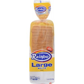 Rainbo Large White Bread 20 oz