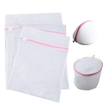 DZT1968 5 PCS Delicates Laundry Bags Bra lingerie Protection Washing Drying Bag Washing