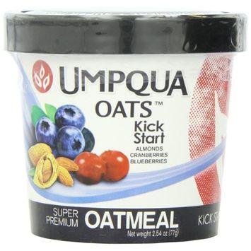 Umpqua Oats All Natural Oatmeal Kick Start 2.54 Ounce (Pack of 12)