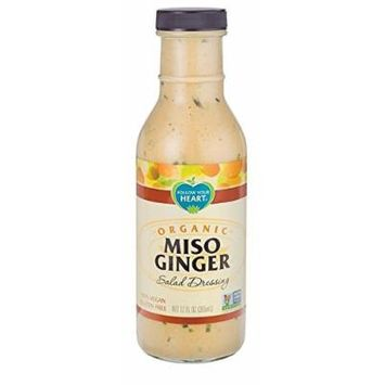 Follow Your Heart Organic Miso Ginger Salad Dressing 335ml (Pack of 2)