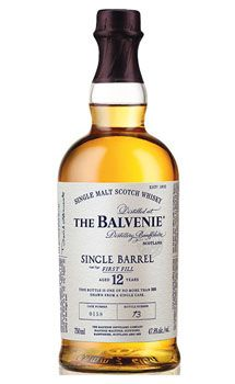 Balvenie 12 Year Old First Fill Single Malt Scotch