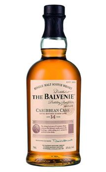 Balvenie 14 Year Old Caribbean Cask Single Malt Scotch