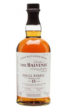 Balvenie 15 Year Old Single Barrel Sherry Cask Single Malt Scotch