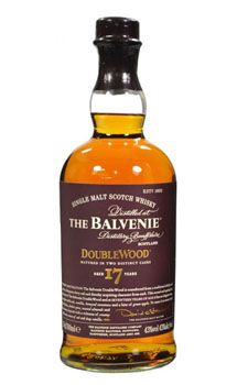 Balvenie 17 Year Doublewood Single Malt Scotch