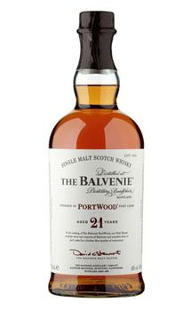 Balvenie 21 Year Old Portwood Single Malt Scotch