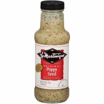 La Martinique Original Poppy Seed Dressing 10oz (Pack of 6)