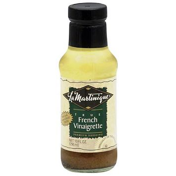 La Martinique True French Vinaigrette Premium Dressing, 10 fl oz, (Pack of 6)