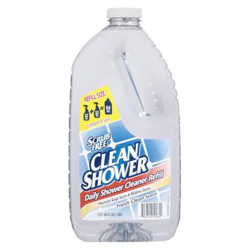 Clean Shower Daily Shower Cleaner Refill Fresh Clean Scent 64 oz