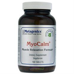 Metagenics MyoCalm Muscle Relaxation, Tablets, 180 ea