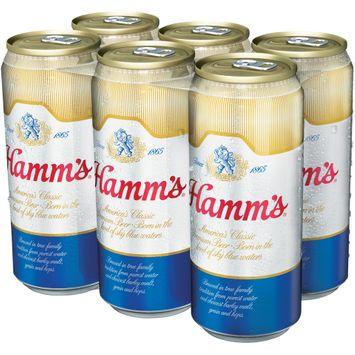 Hamm's® America's Classic Premium Beer 6 ct Cans