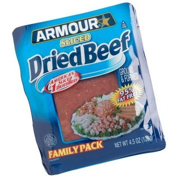 Armour Dried, Sliced Beef, 4.5-Ounce Pouch (Pack of 12)