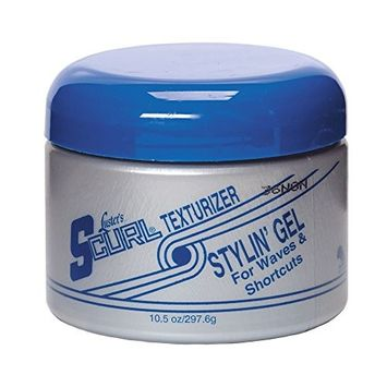 LUSTER'S S CURL TEXTURIZER STYLIN GEL 8 OZ hold and shine
