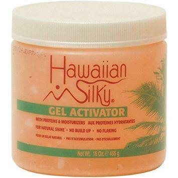 HAWAIIAN SILKY GEL ACTIVATOR 16 OZ NATURAL SHINE- NO BUILD UP