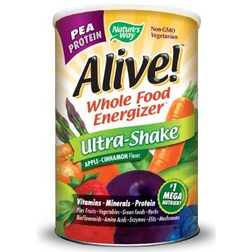 Nature's Way Alive! Rice/Pea Ultra-Shake Apple & Cinn, 2.2 lbs Powder