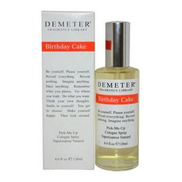 Birthday Cake Demeter 4 ozCologne Spray Women