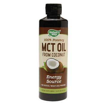 MCT Oil From Coconut Nature's Way 16 oz Liquid