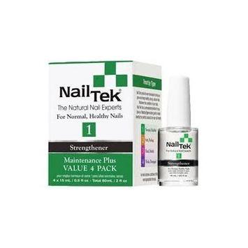 Nail Tek Strengthener Maintenance Plus Value 4 Pack