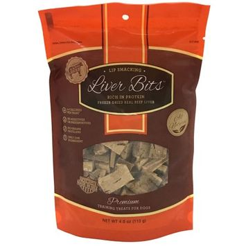 Pet Health Solutions Liver Bits Treats for Dogs - 4 oz
