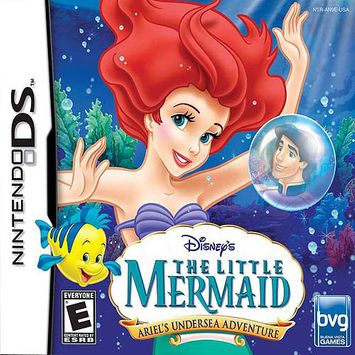Inetvideo Disney's The Little Mermaid: Ariel's Undersea Adventure DS