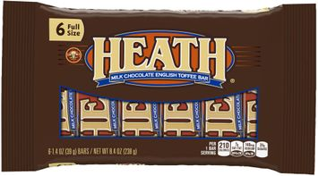 Heath® Milk Chocolate English Toffee Bars