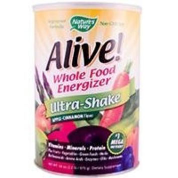 Nature's Way Alive! Soy Ultra-Shake Apple & Cinn, 2.2 lbs Powder