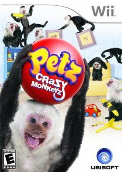 iNetVideo N02009747 Petz Crazy Monkeyz Nintendo WII