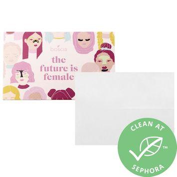 boscia The Future is Female Peppermint Blotting Linens 100 sheets