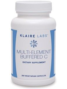 Klaire Labs, Multi-Element Buffered C 250 Vegetarian Capsules