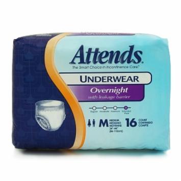 Attends Overnight Protective Underwear  - Medium 34in - 44in