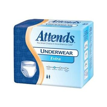 Attends Adult Extra Absorbency Protective Underwear Medium 34'' - 44''