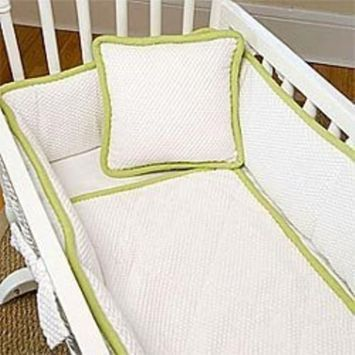 Babydoll The MOD Cradle Bedding Set, Lime