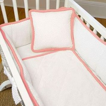 Babydoll The MOD Cradle Bedding Set, Strawberry