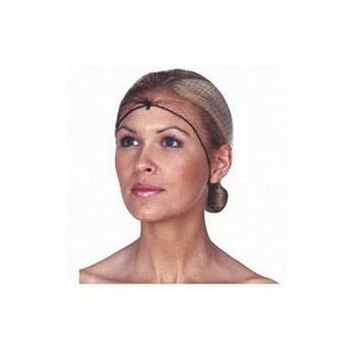 Scalpmaster Invisible Hairnets 3-Pack Black