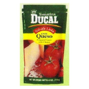 Ducal Tomatina With Cheese 4 oz - Tomatina Con Queso