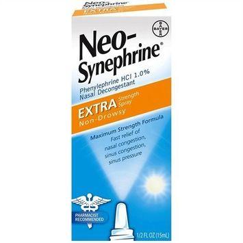 Neo-Synephrine Nasal Spray Extra Strength Formula 0.5 oz.
